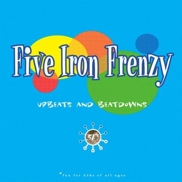 five iron frenzy upbeats and beatdowns album cover