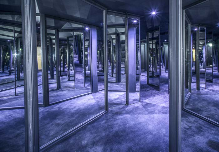 hall of mirrors maze