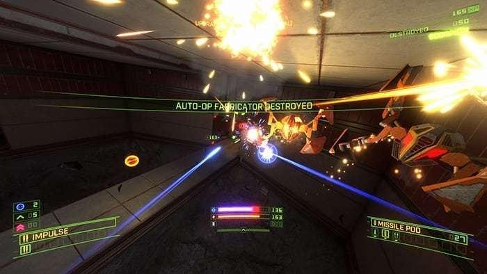 Overload gameplay screenshot
