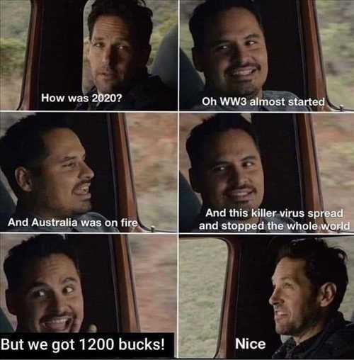 michael pena meme from ant-man about 2020 disasters