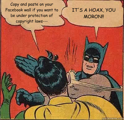 batman slaps robin for asking him to copy-paste a facebook post